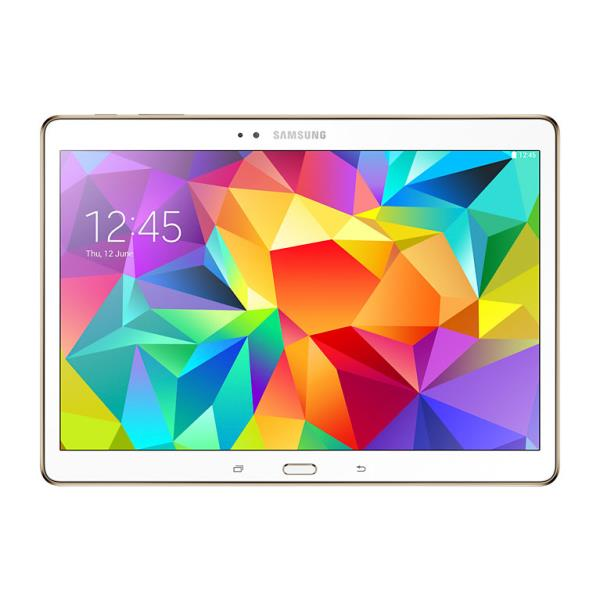 Samsung Galaxy Tab S SM-T800 10.5 WiFi 16GB memory White Planšetdators