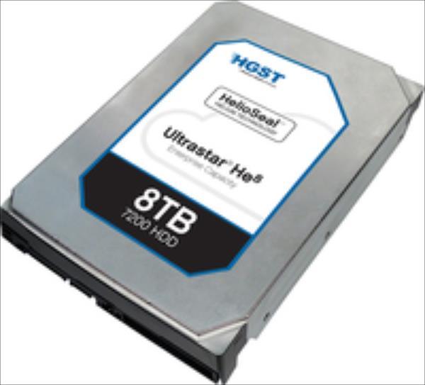 HGST Hitachi Ultrastar HE8 SAS 8TB SSD disks