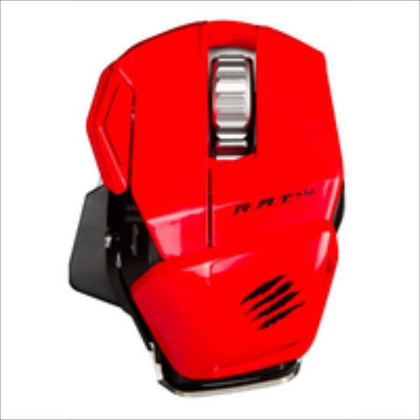 Mad Catz R.A.T.M Wireless Mobile Gaming red Datora pele