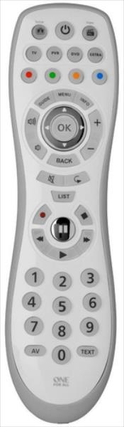 One For All OFA TV Universal Remote Simple 4 pults