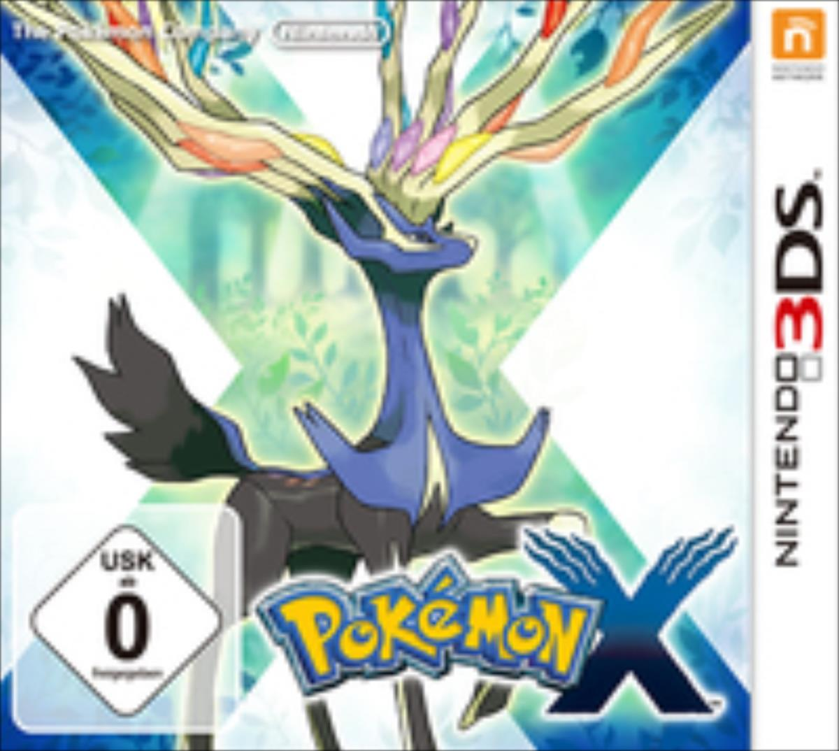 Nintendo Pokemon X, 3DS spēle