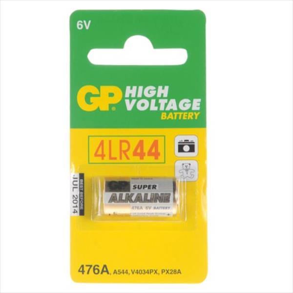 Alcaline battery GP Batteries 476AF-U1 PX28A / 4LR44 | 6.0V | blister 1 pcs Baterija