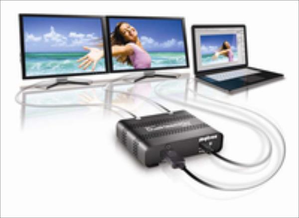 MATROX DualHead2Go Digital SE, DP, 2xDVI output video karte
