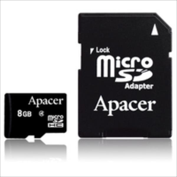 Apacer MicroSDHC Class4 8GB atmiņas karte