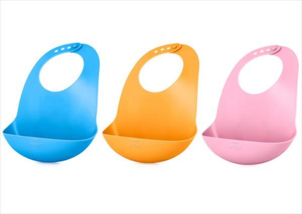 AVENT mīkstas plastmasas barošanas  lacīte ar kabatiņu, 6M+ SCF 736/00 aksesuāri bērniem