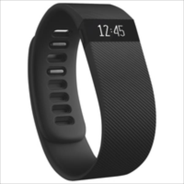 Fitbit Charge, Large (Black) Fitbit Flex sporta pulkstenis, pulsometrs