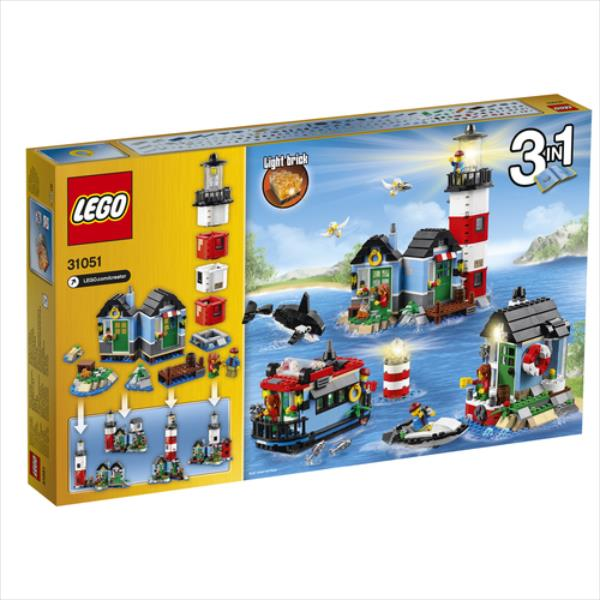 LEGO Lighthouse Point V29  31051 LEGO konstruktors