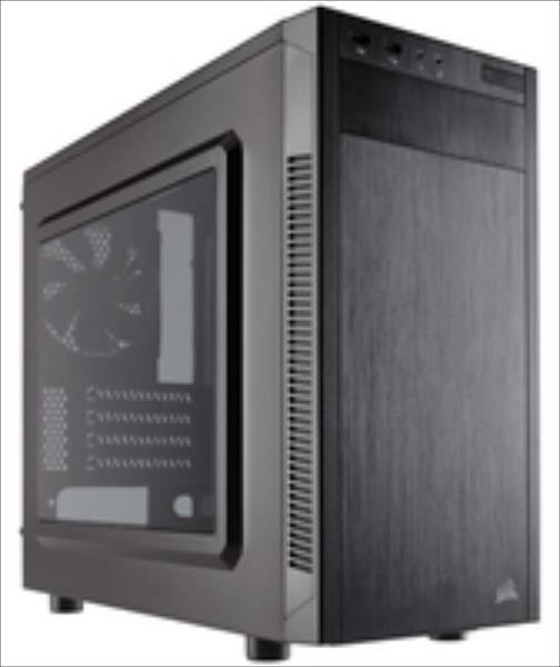 Corsair Carbide Series 88R MicroATX Mid-Tower Case, 120mm fan Datora korpuss