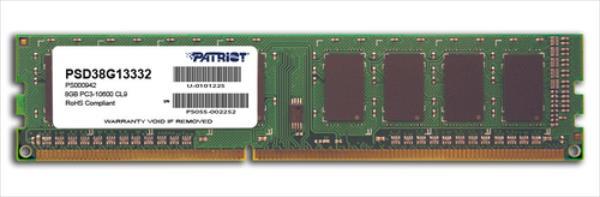 Patriot DDR3 8GB 1333MHz CL9 1.5V