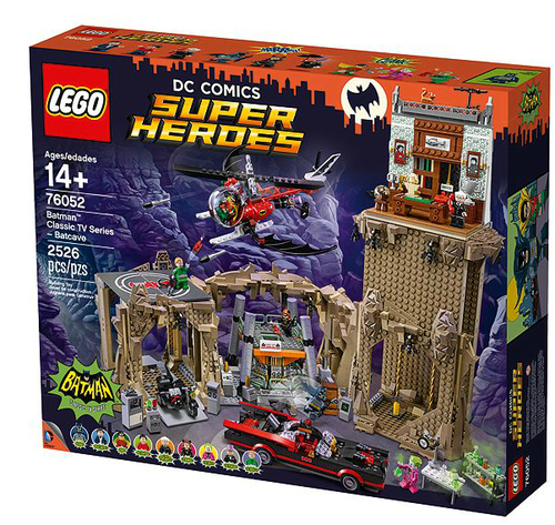 LEGO Batman Classic TV Series Bathohle (76052) LEGO konstruktors