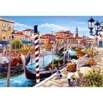 Castor 1000 EL. Venetian Canal in Italy puzle galda spēle