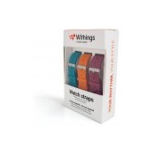 Withings Withings Activite Wristband 3 color sporta pulkstenis, pulsometrs