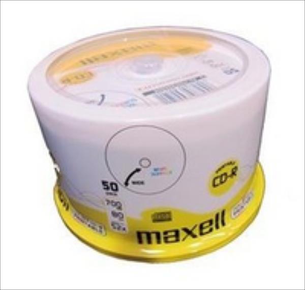 MAXELL CD-R 700 MB 52x   PRINTABLE CAKE 50 pcs matricas
