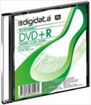 DIGIDATA DVD+R diskas 4,7 GB 16X Slim matricas