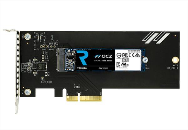 Toshiba OCZ RD400 Series NVMe AIC 1TB SSD disks