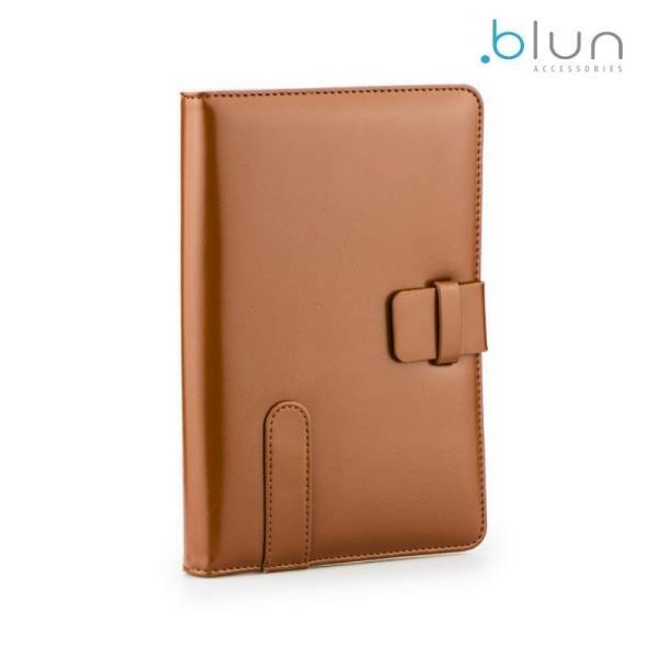 Blun High-Line Universāls Eko ādas sāniski atverams maks ar stendu Tablet PC līdz 7