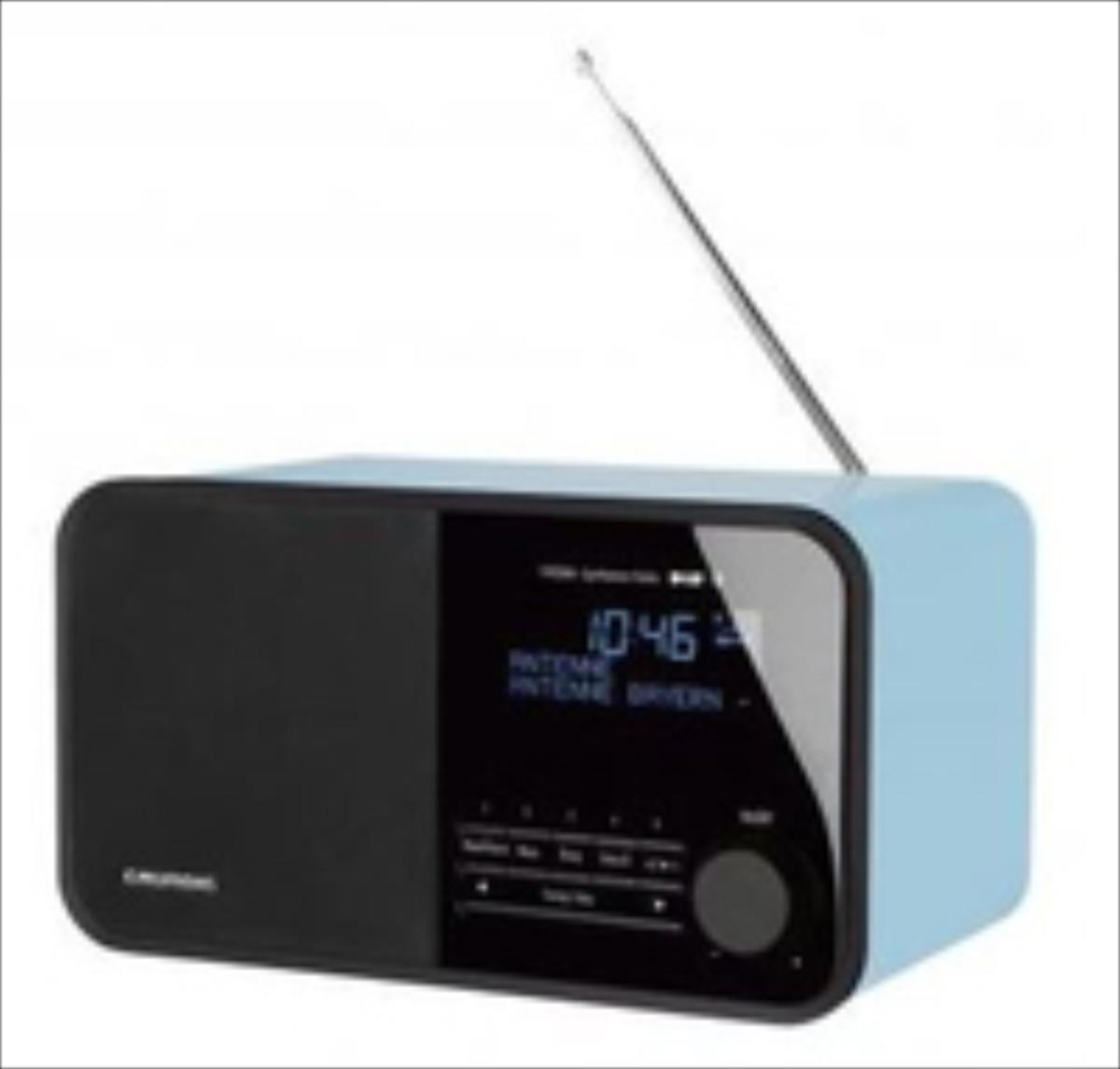 Grundig TR 2500 BT DAB+ blue radio, radiopulksteņi