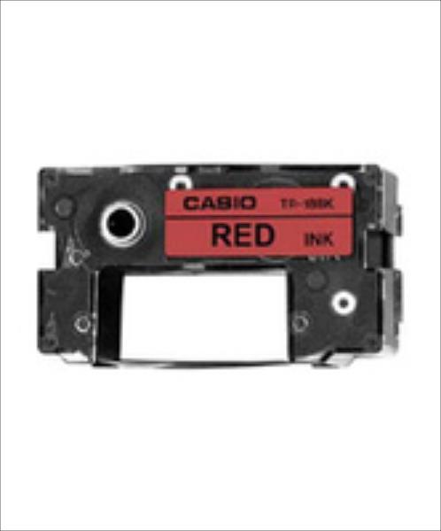 Casio TR-18 RD Ink Ribbon Kassette rot toneris