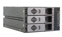 Chieftec SST-2131SAS 2x5.25inch bays for 3 SAS or SATA HDDs, Hot-Swap, Aluminium cietā diska korpuss