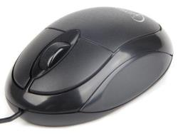 Gembird Optical mouse 1000 DPI, USB, black Datora pele