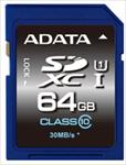 A-DATA 64GB Premier SDHC UHS-I U1 Card (Class10) read/write atmiņas karte