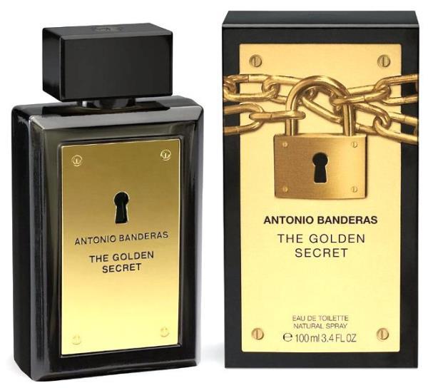 Antonio Banderas The Golden Secret 100ml Vīriešu Smaržas