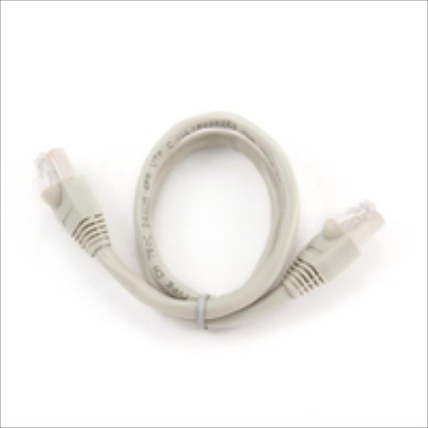 Gembird patchcord RJ45, cat. 6, FTP, 0.5m, gray tīkla kabelis