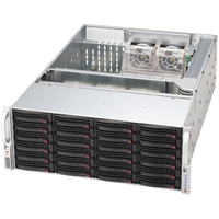 Supermicro SuperChassis, black 24x 3.5 Hot-swap drive bays,
