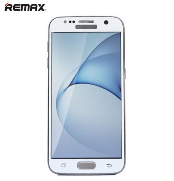 Remax Ultra Plāns Ekrāna aizsargstikls 9H priekš Samsung G930F Galaxy S7 3D Nolocītu malu (Pilna izmēra) Balts aizsargplēve ekrānam mobilajiem telefoniem