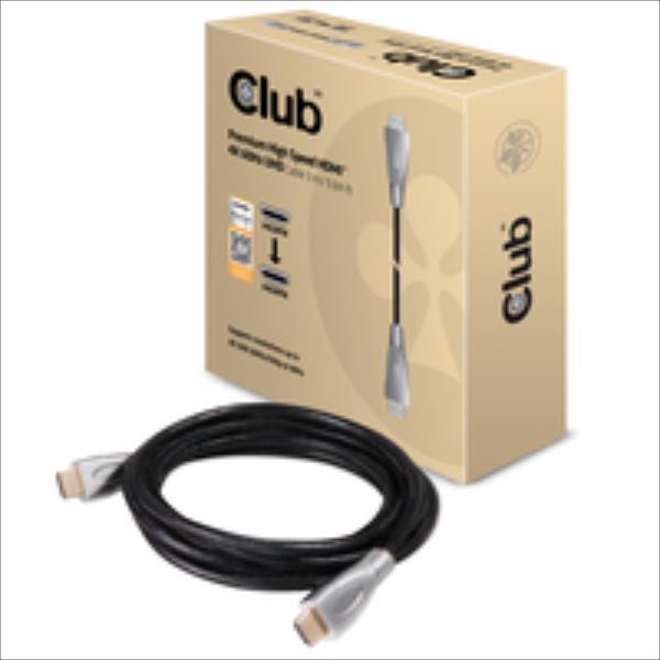 Club3D HDMI-Kabel A -> A 2.0 High Speed 4K60Hz UHD 3 Meter retail kabelis video, audio