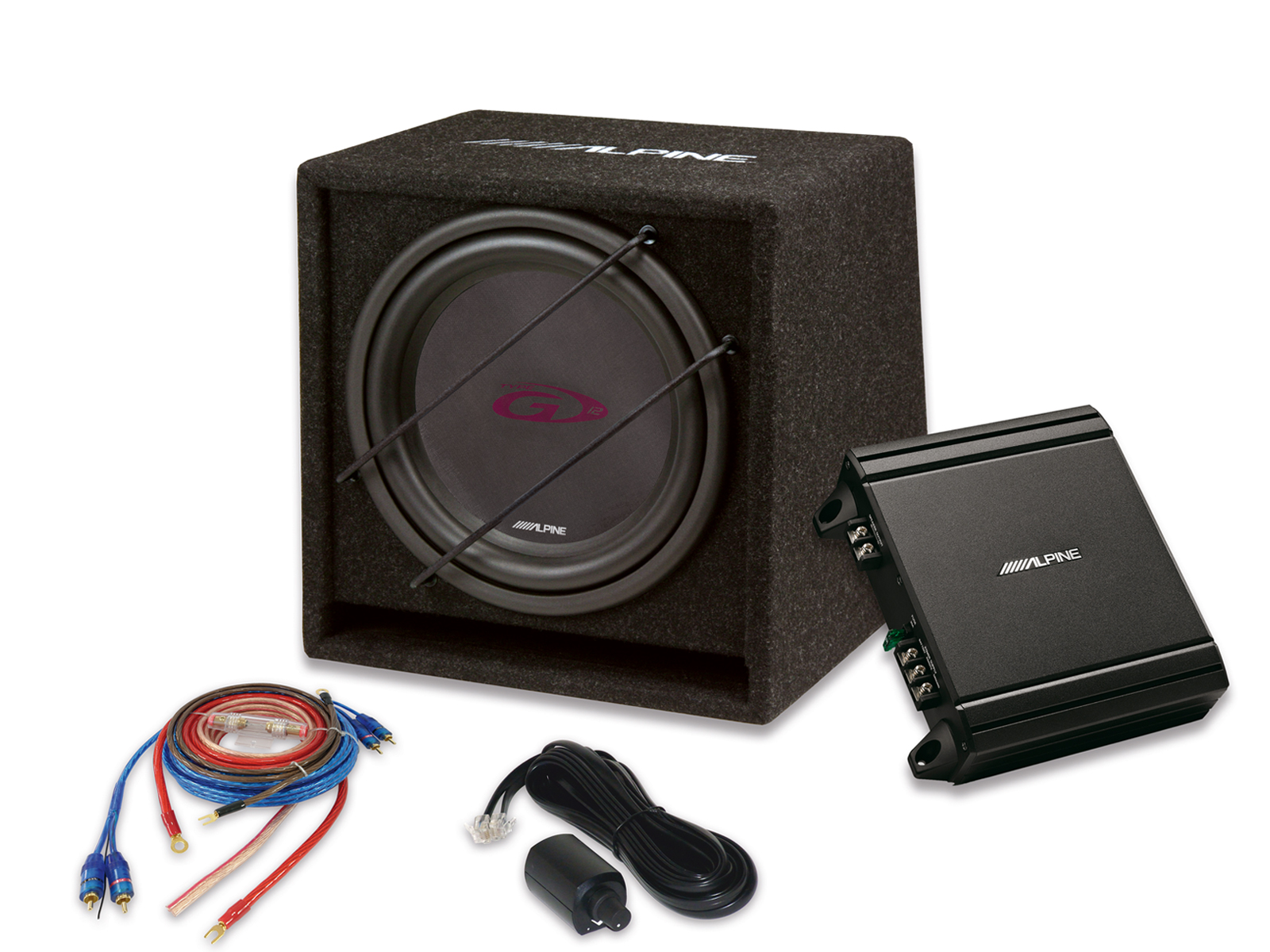 Alpine SBG-30KIT SubWoofer