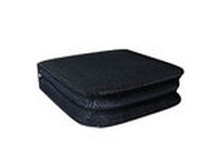 MediaRange CD/DVD Storage Media Case 24pcs, Nylon, Black