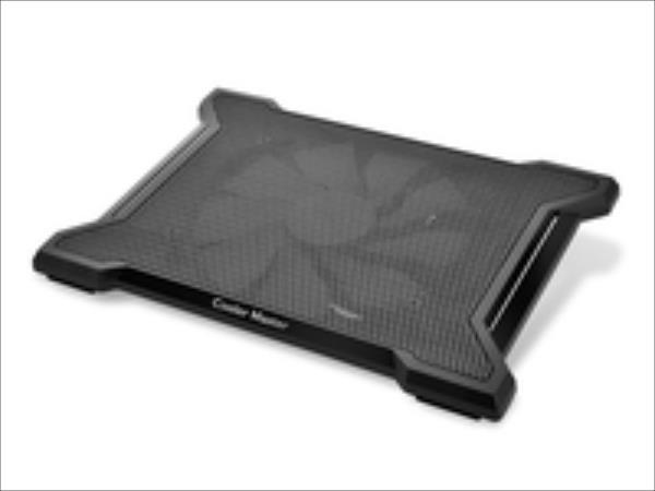 Cooler Master NotePal X-Slim II Black R9-NBC-XS2K-GP portatīvā datora dzesētājs, paliknis