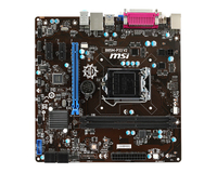 MSI B85M-P33 V2 LGA1150  mATX MB pamatplate, mātesplate