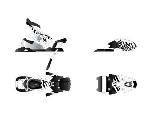 Stiprinājumi slaloma slēpēm EFR/FS 18.0 `13