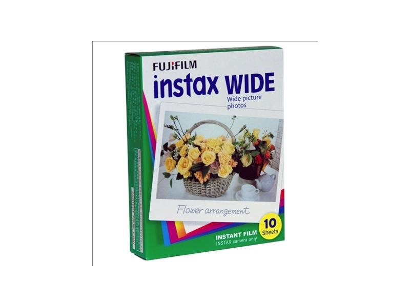 Fujifilm Instax Wide Glossy (10pcs) Instant Film foto papīrs