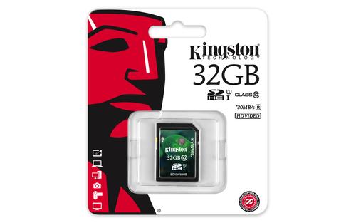 KINGSTON MEMORY SECURE DIGITAL HC 32GB/CLASS10 SD10V/32GB atmiņas karte