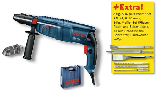 Bosch GBH 2600 Rotary Hammer+ ACCESSORIES Elektroinstruments