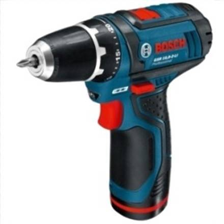 Bosch GSR 10,8-2Li WITH 2 BATTERIES Elektroinstruments