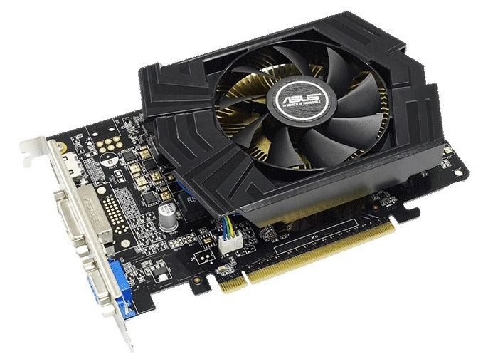 Asus GTX750-PHOC-2GD5 / NVIDIA GeForce GTX 750 / PCI-E 3.0 / video karte