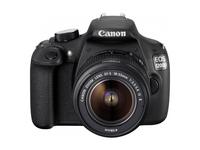 Canon EOS 1200D 18Mpix 18-55IS Black Spoguļkamera SLR