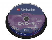 Verbatim DVD+R 4.7GB 16X 10pack matricas