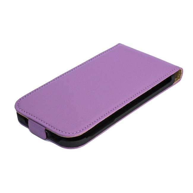 Forcell Slim Flip Case Samsung i9500 Galaxy S4 Violet