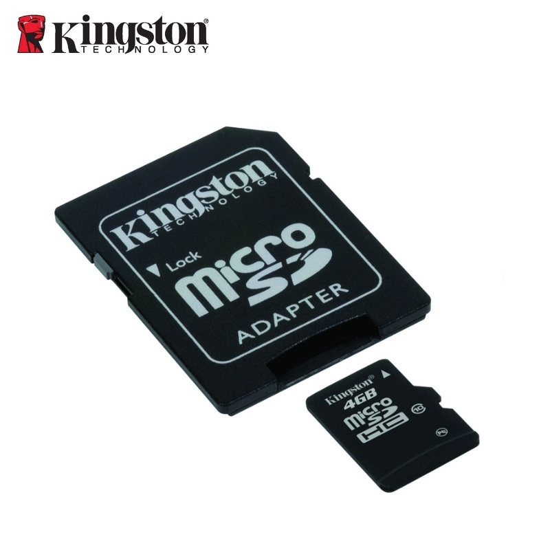 Kingston 4GB Micro SDHC Class10 atmiņas karte