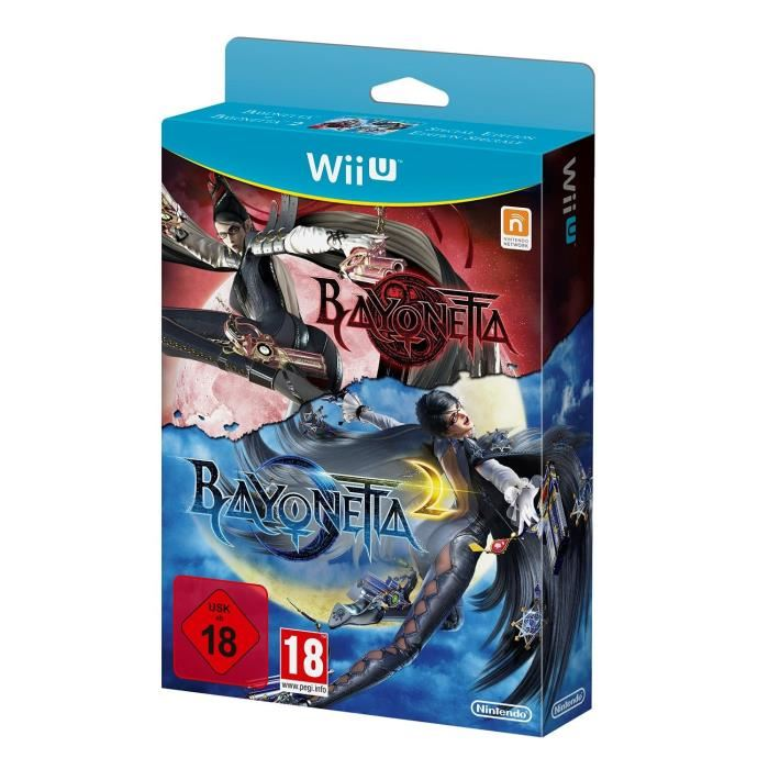 NINTENDO WiiU Bayonetta 1+2 spēle