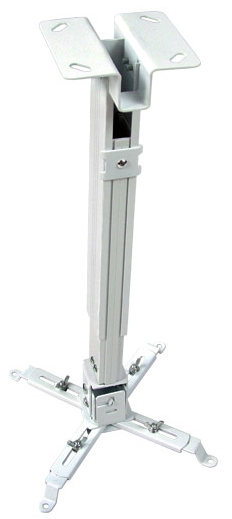 Avtek EasyMount steel ceiling till 10 kg, Distance 43-65 cm, TV stiprinājums