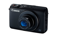 Canon PowerShot N100 12.1Mpix 5x IS Black Digitālā kamera