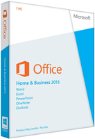 Microsoft Office Home and Business 2013 32-bit/x64 programmatūra