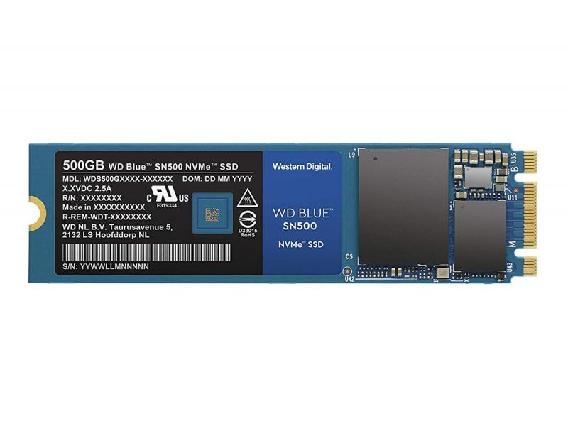 WD Blue SN500 NVMe SSD 500GB