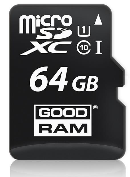 GOODRAM 64GB microSDHC class 10 UHS